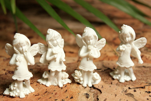 4er Set mini Elfen