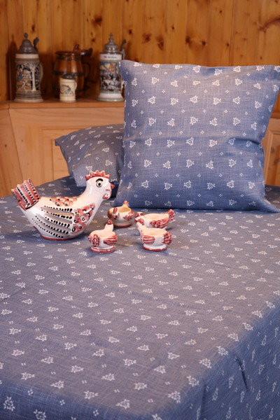 Gartentischdecken u. Kissenbezug Mondsee