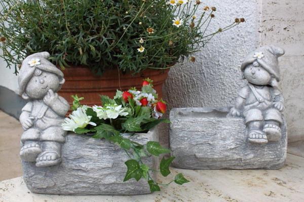 Blumenkasten Junge oder Mädchen