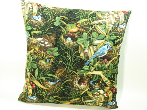 Tierkissen Vögel - Kissenbezug mit Tiermotiven