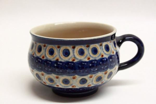 Kaffeetasse Vollbunt hell